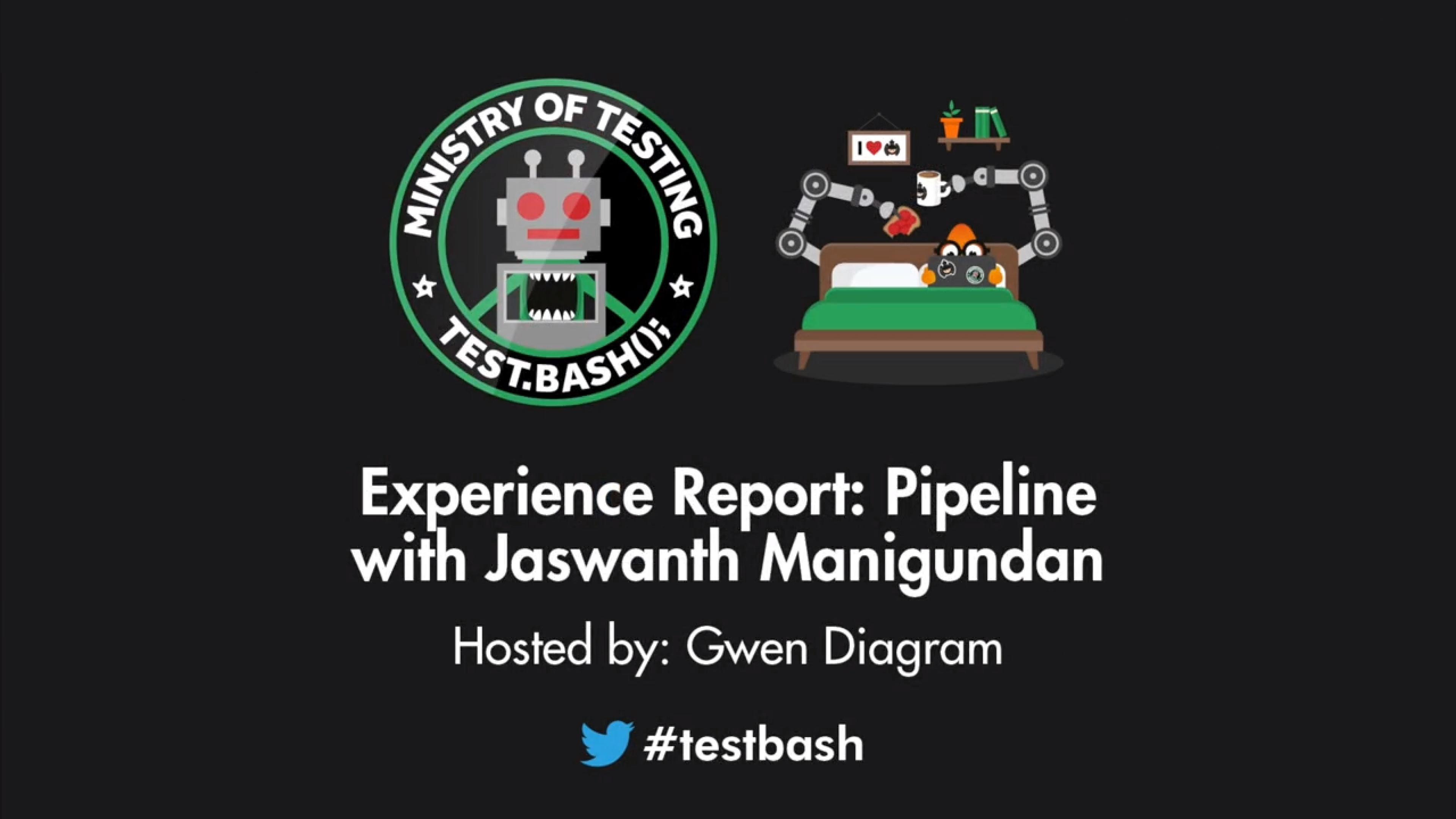Experience Report: Pipeline - Jaswanth Manigundan