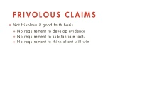 Meritorious Claims thumbnail