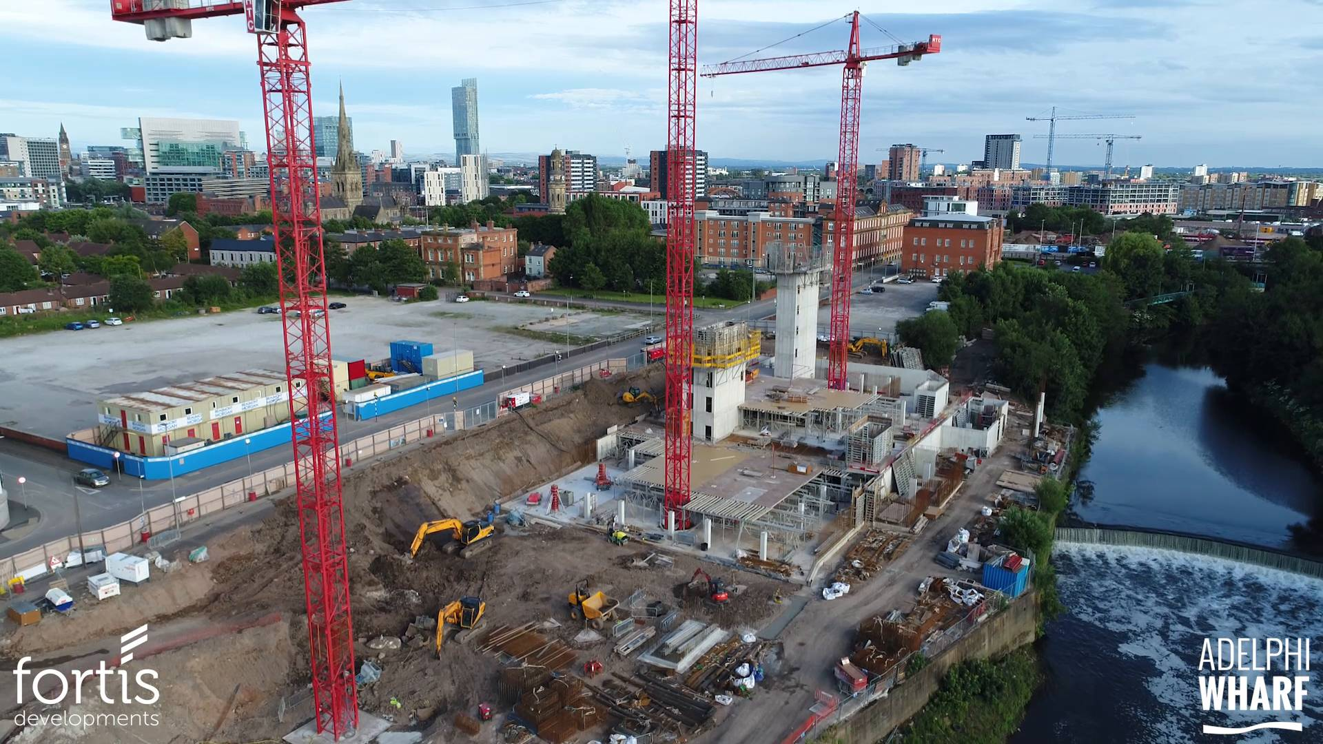 Adelphi Wharf Phase 3 - Drone Footage - July 2017