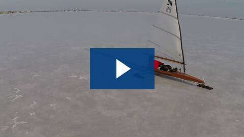 Iceboat Sailing on Barnegat Bay