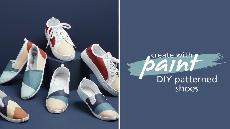 Habitat TV Video: Renew your shoes with Resene
