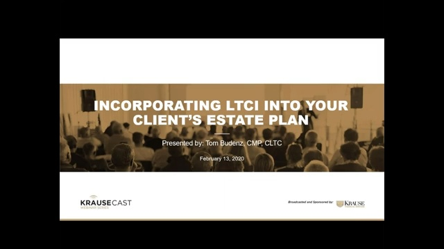 Incorporating LTCI in Your Client's Estate Plan