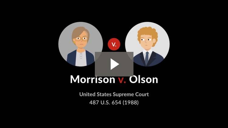 Morrison v. Olson