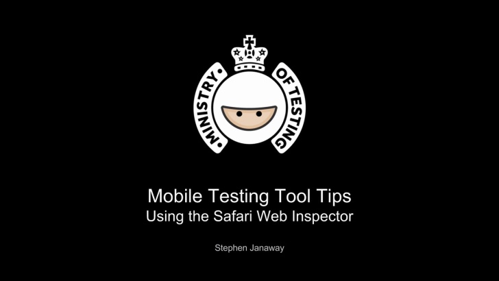 Using the Safari Web Inspector
