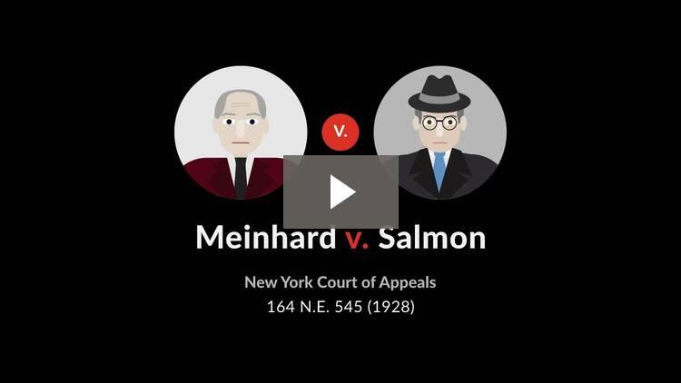 Meinhard v. Salmon