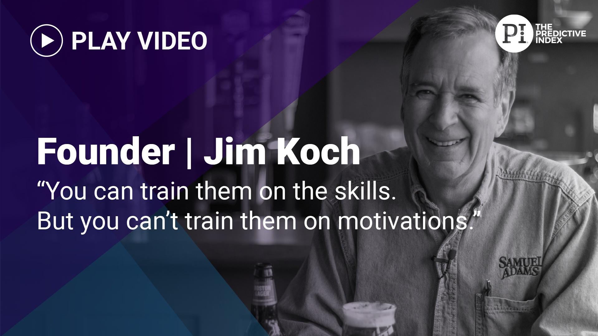 Jim Koch on the Behavioral Assessment