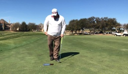 Keep Your Eyes On Top Of The Golf Ball By Doing This