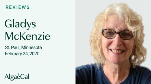 Testimonial thumbnail portrait of Gladys McKenzie