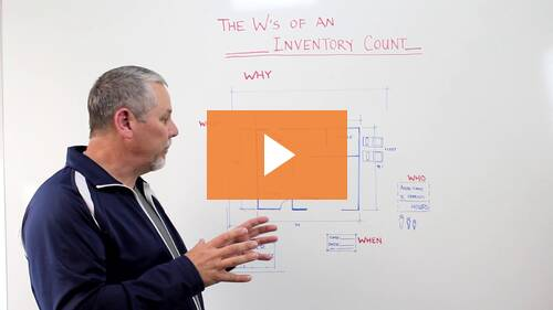 Whiteboard Wednesday: The W's of an Inventory Count