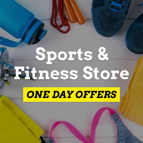 Sports Fitness Store One Day Offer
