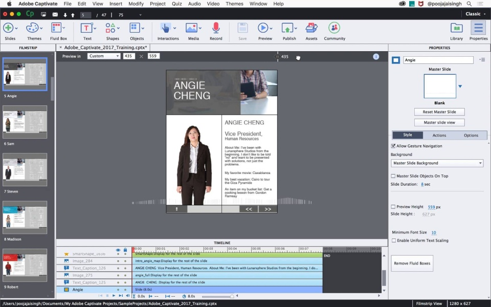 Adobe Captivate 2017 Release Tutorials Elearning