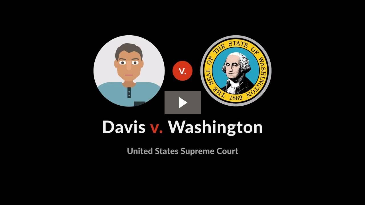 Davis v. Washington