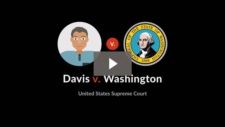 Davis v. Washington