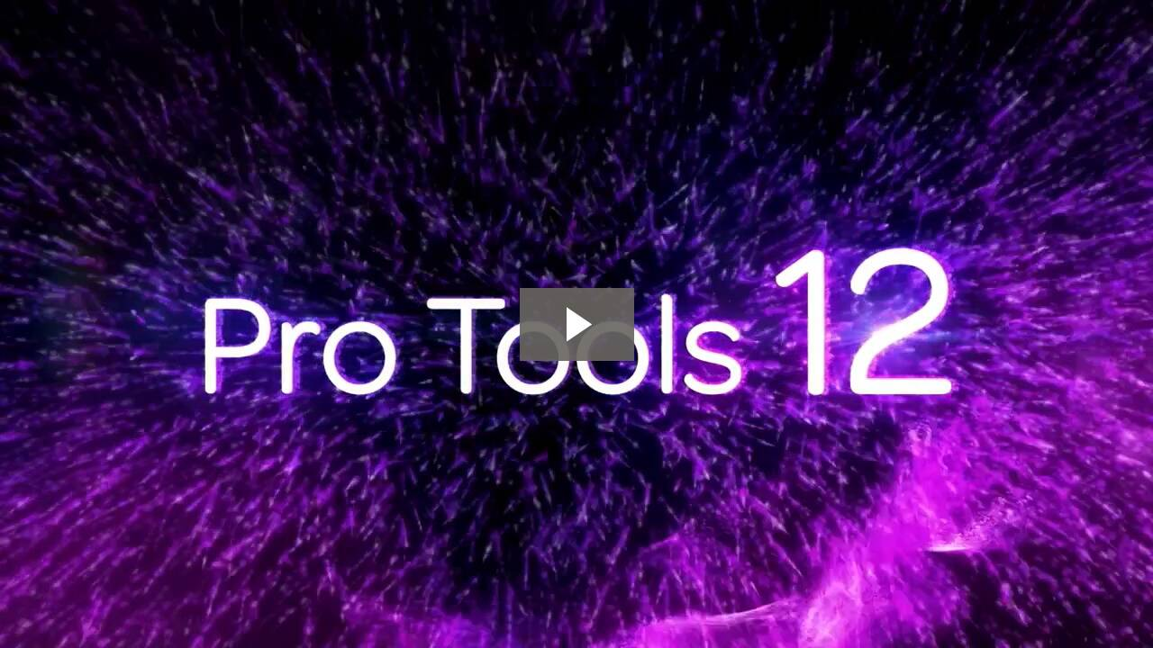 Pro Tools 12 for Students & Teachers