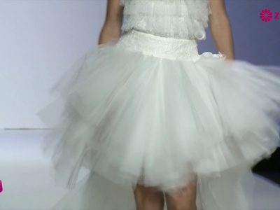 Dalla Barcellona Bridal Week, una selezione degli abiti da sposa corti più belli per il 2015