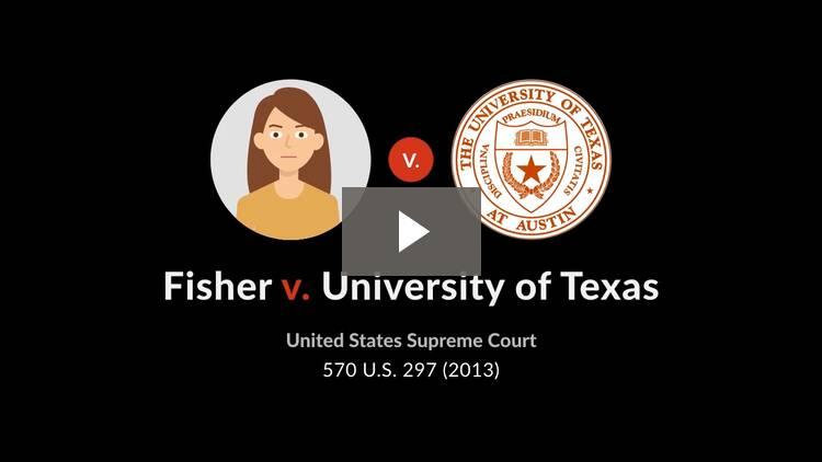 Fisher v. University of Texas at Austin (Fisher I)