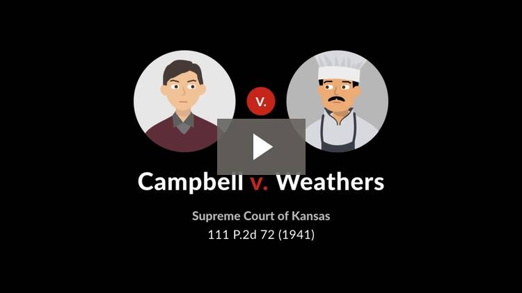 Campbell v. Weathers