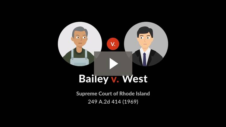 Bailey v. West