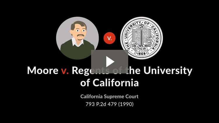 Moore v. Regents of the University of California