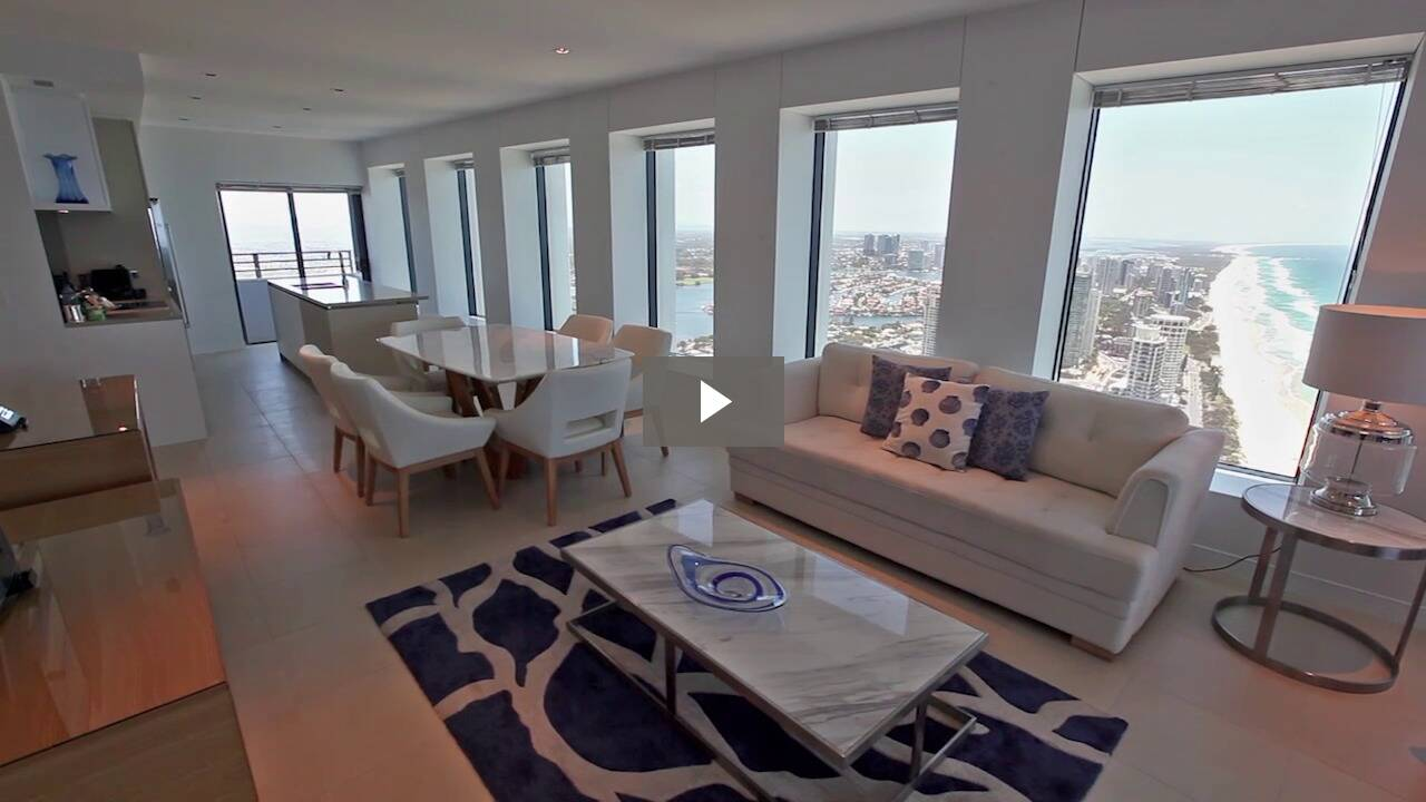 3 Bedroom Sky View Apartment Luxury Gold Coast accommodation