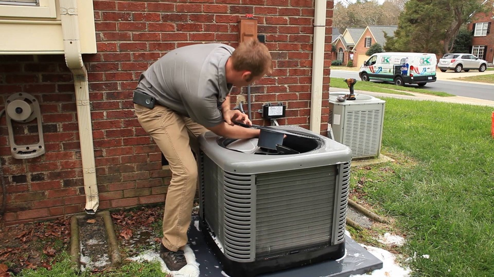Killingsworth Air Conditioner Maintenance & Condenser Coil Cleaning video