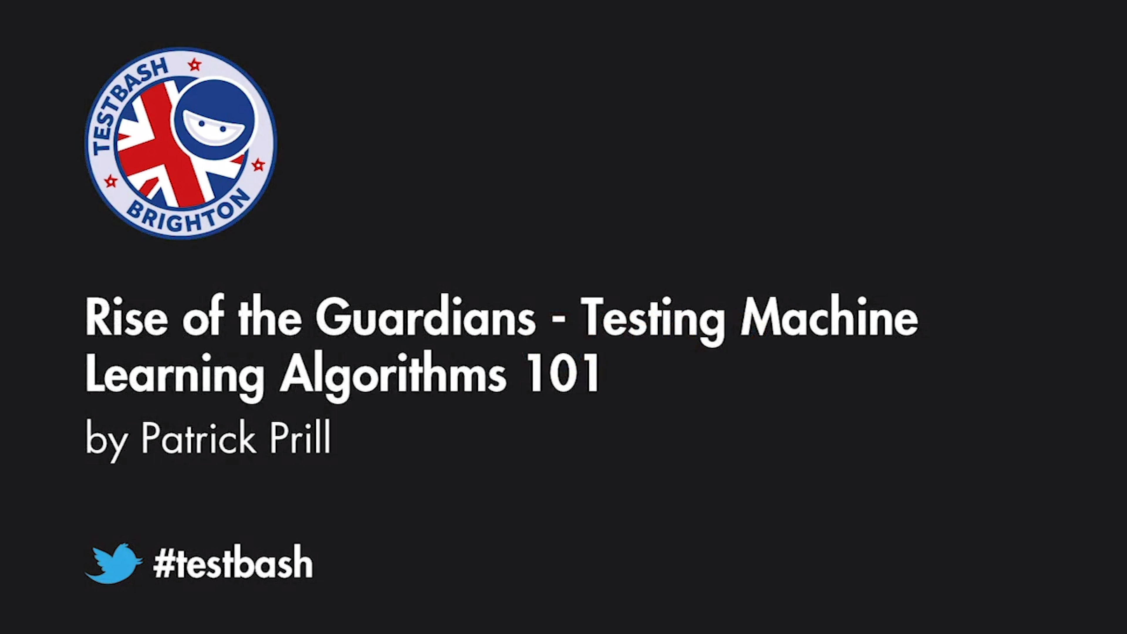 Rise of the Guardians: Testing Machine Learning Algorithms 101 - Patrick Prill