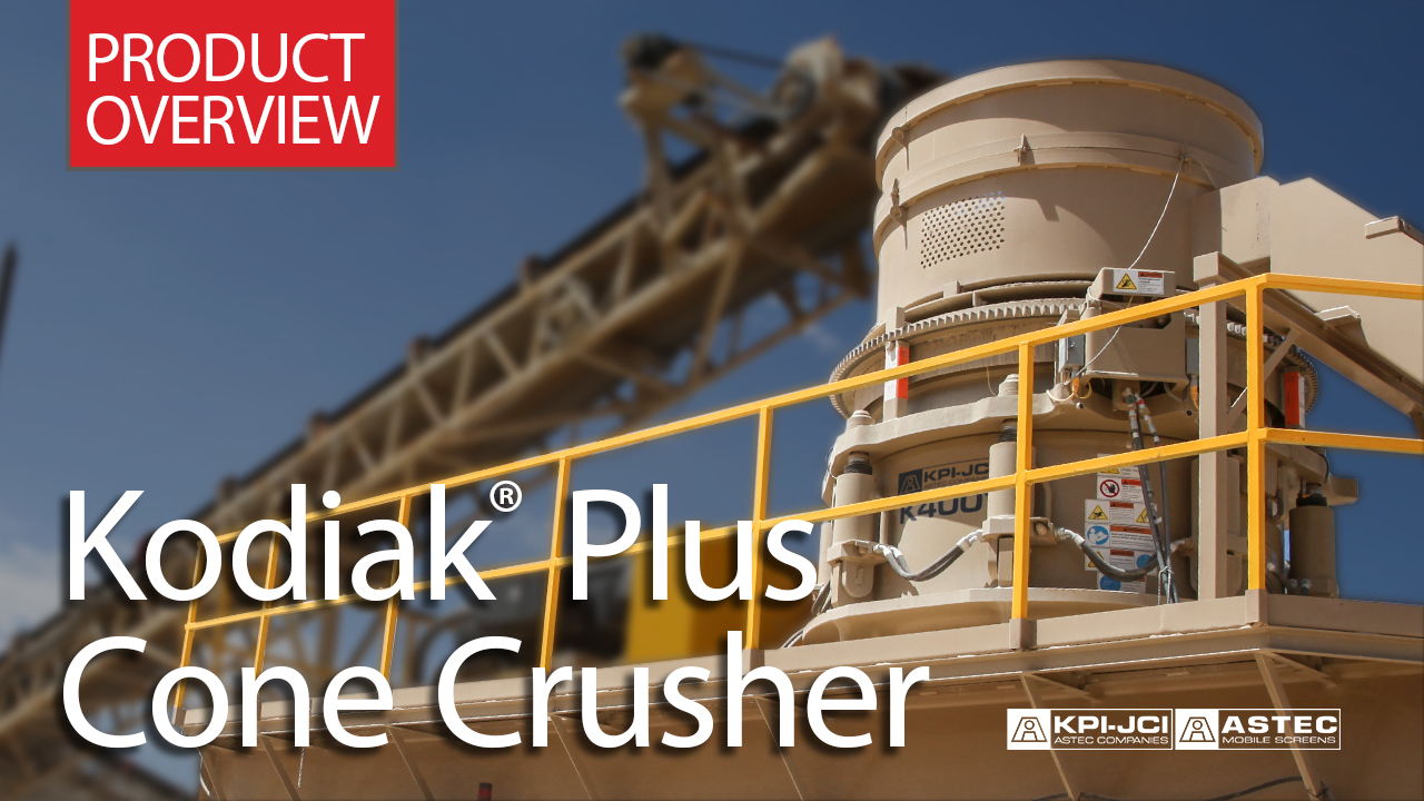Kodiak® Plus Cone Crusher Product Video