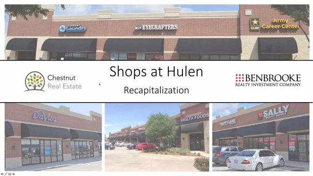 Investment Video - Shops at Hulen Recapitalization