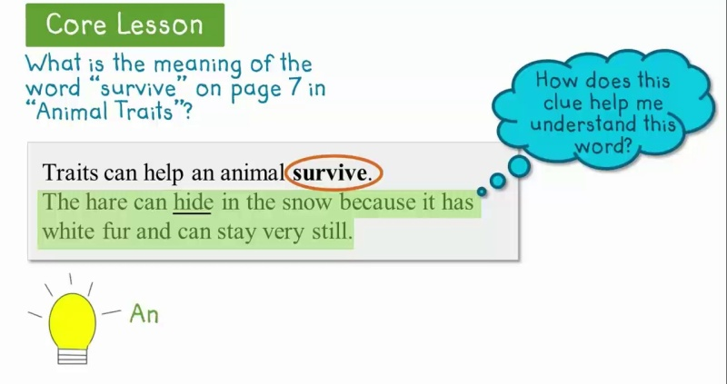 Determine The Meaning Of Words In A Text Using Text Features