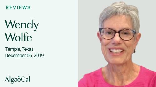 Testimonial thumbnail portrait of Wendy Wolfe