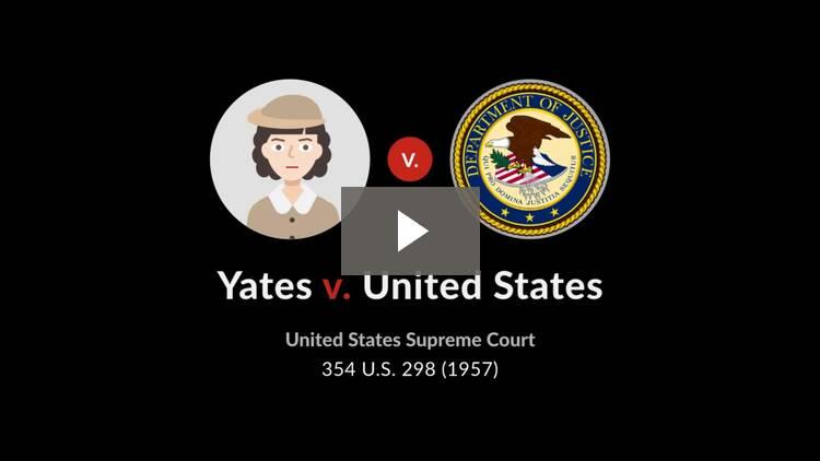 Yates v. United States