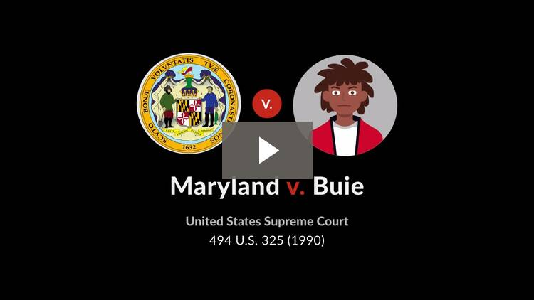 Maryland v. Buie