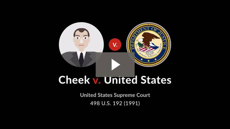 Cheek v. United States