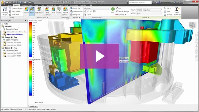 Getting started with autodesk simulation cfd youtube.