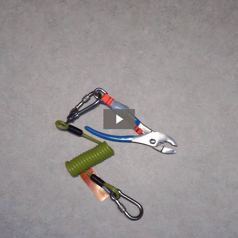 Ergodyne Product Video - Squids<sup>®</sup> 3180 Tool Tethering Kit - 2lbs / 0.9kg