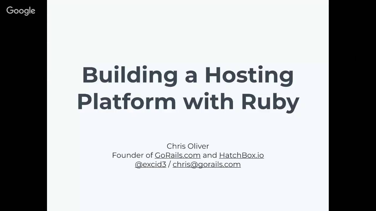 Building A Hosting Platform In Ruby Example Gorails
