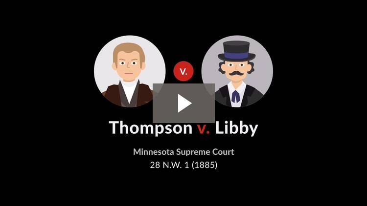 Thompson v. Libby