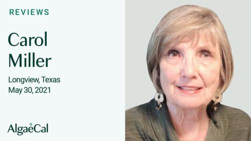 Testimonial thumbnail portrait of Carol Miller