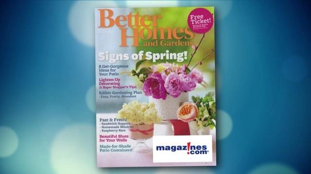Better Homes Gardens Magazine Subscription