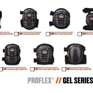 Ergodyne Product Video - ProFlex<sup>®</sup> 355 Short Cap Injected Gel Knee Pads