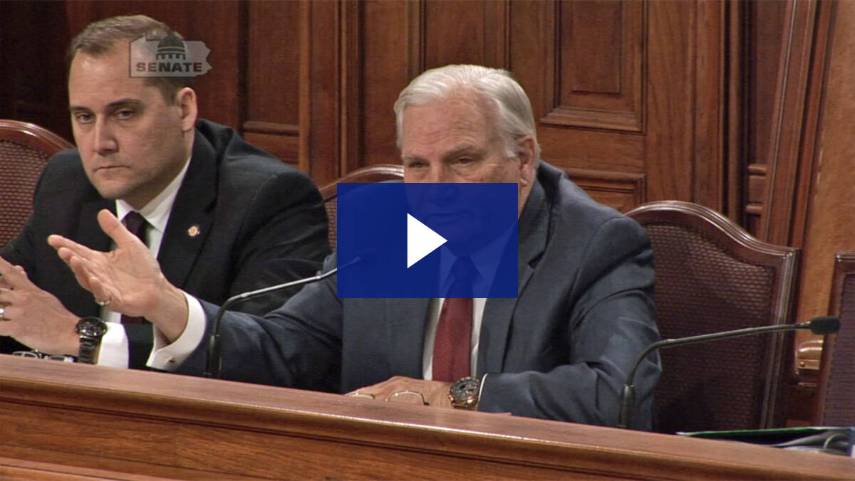 2/19/19 - Budget Hearing Q&A: Revenue/Lottery
