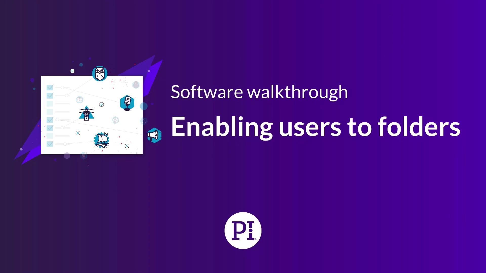 Enabling Users to Folders