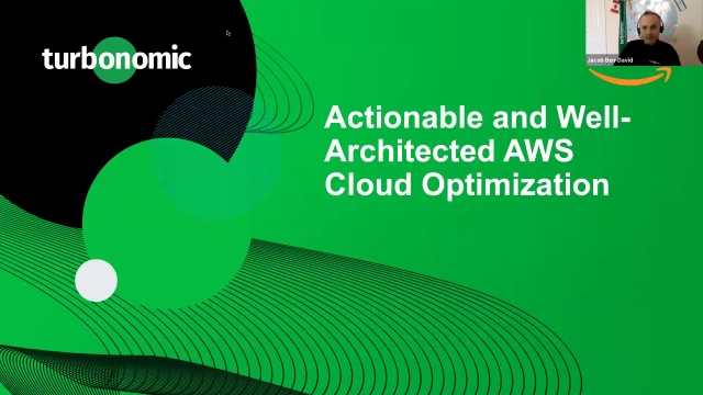 Webinar: Actionable & Well-Architected AWS Cloud Optimization
