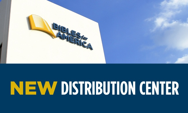 Behind the Scenes at the New Bibles for America Distribution Center