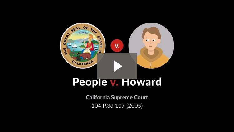 People v. Howard