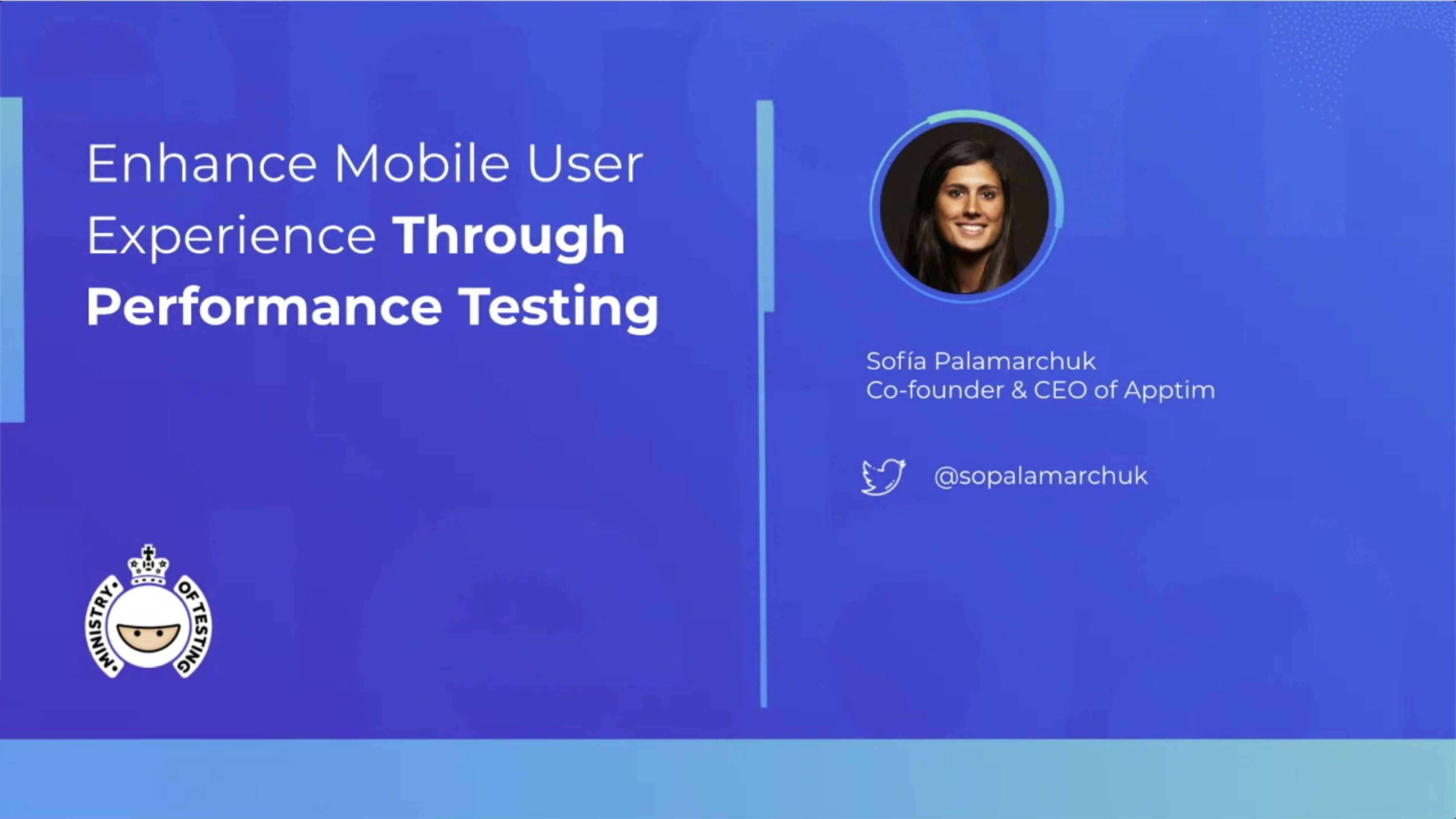 Enhance Mobile User Experience Through Performance Testing with Sofia Palamarchuk