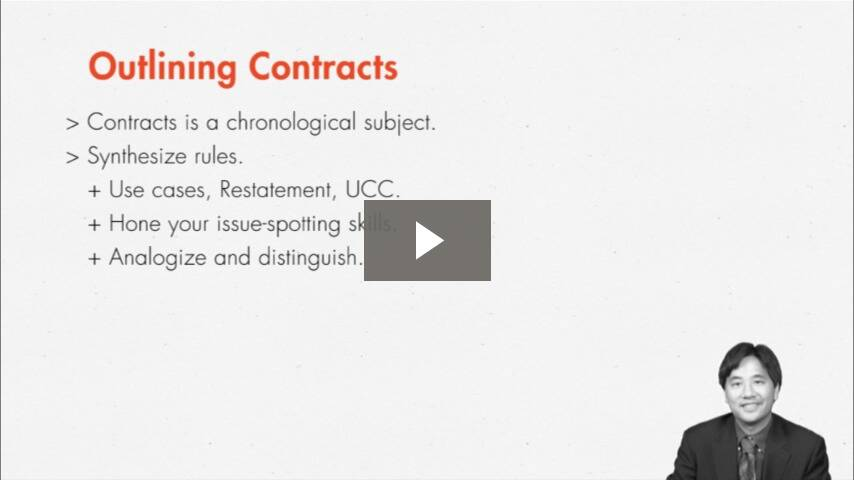 Helpful Hints on Outlining Contracts
