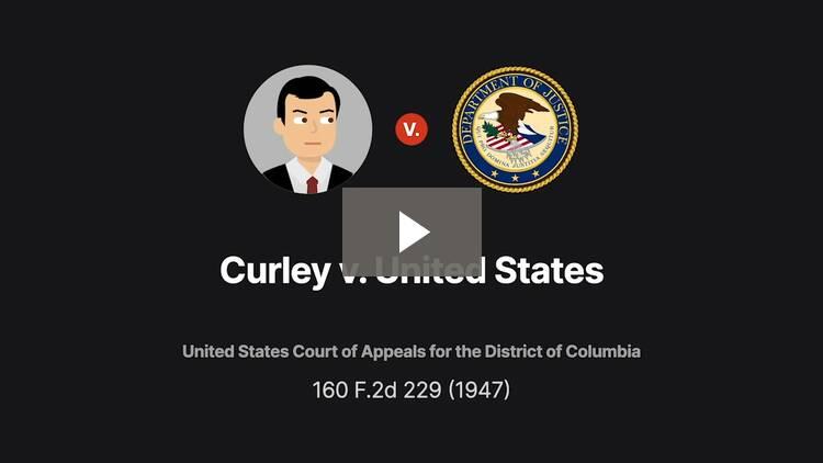 Curley v. United States