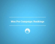 Moz Pro Campaign: Rankings