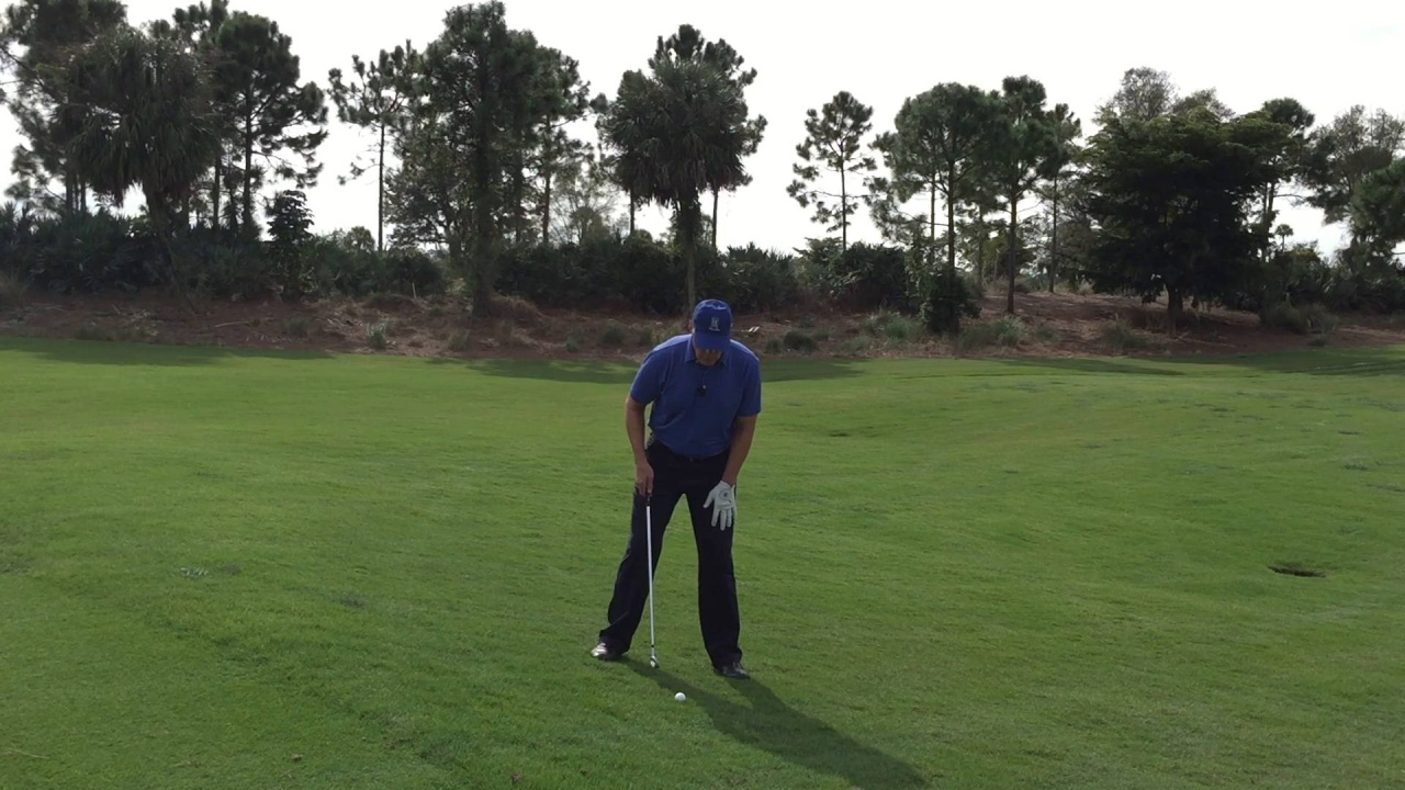 How to Hit from Uneven Lies